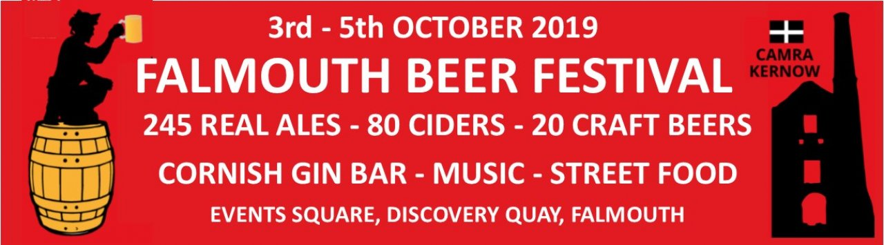 Falmouth Beer Festival 2019