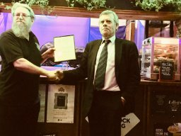 The Hope Pub of the Year presentation