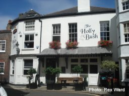 Exterior of The Holly Bush, Hampstead