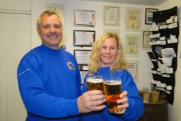 Simon and Anna Lacey  - Country Life Brewery - ND Brewerey of the year 2018