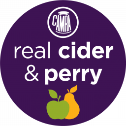 Real Cider and Perry logo.