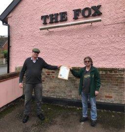 Nick and Martin outside Pakenham Fox (CORVID) Photo by Paul