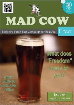 Cover page of issue 64 of the Mad Cow magazine