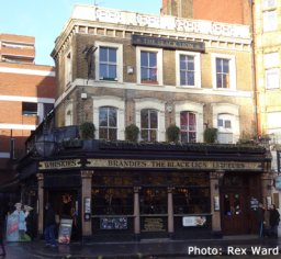 Exterior of The Black Lion