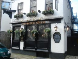 Exterior of The Mayflower, Rotherhithe