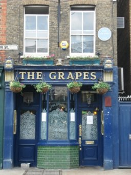 Exterior of The Grapes, Limehouse