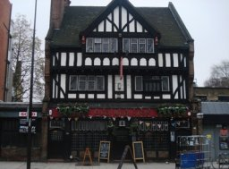 Exterior of The Prince of Wales, Kennington