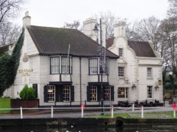 Exterior of The Greyhound, Carshalton