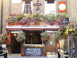 Exterior of The Lamb & Flag, Covent Garden