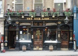Exterior of The Red Lion, St James