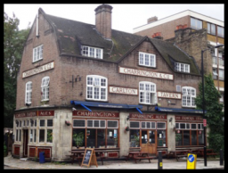 Exterior of The Carlton Tavern