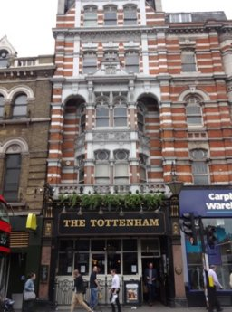 Exterior of The Tottenham