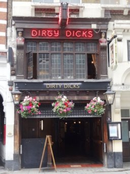 Exterior of Dirty Dick
