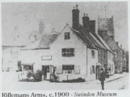 The Riflemans Arms, Highworth, 1900