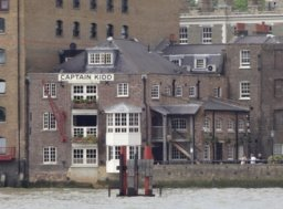 Exterior of Captain Kidd, Wapping