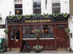 Exterior of The Antelope, Pimlico