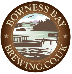 The logo of the Bowness Bay Brewery