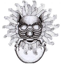 The Doorknocker symbol of Tirril brewery