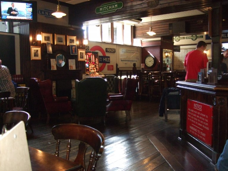 This railway themed pub near Euston Station won the Award as The Head of Steam but is now owned by Fuller's who maintain a guest beer range alongside their own beers.
