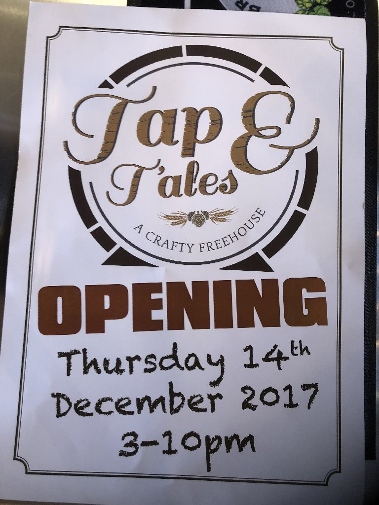 Tap & T'ales Sign
