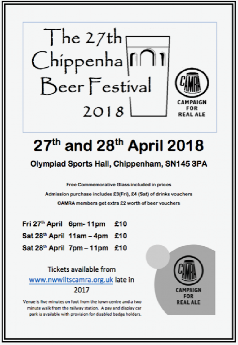 Chippenham 2018 poster
