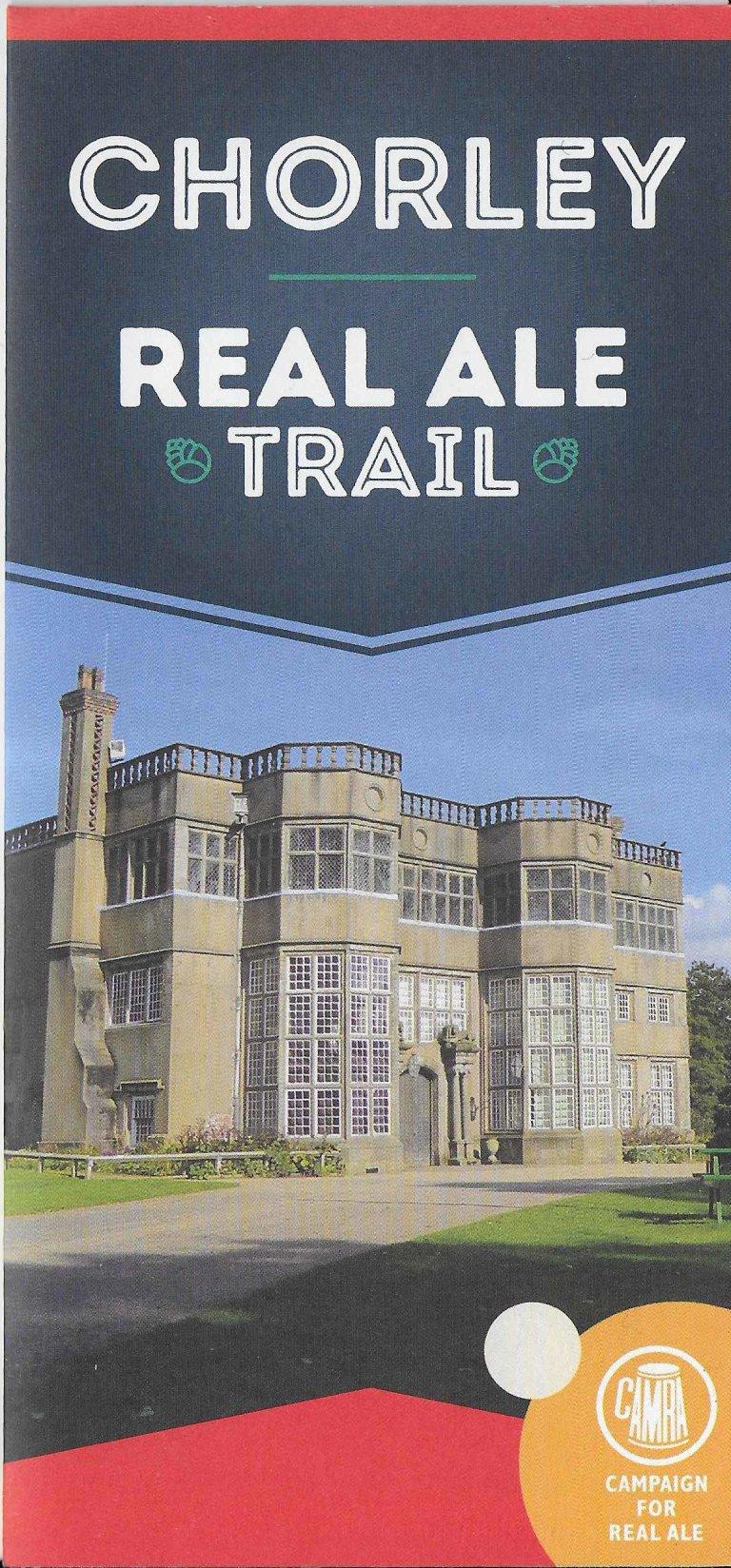 Chorley Real Ale Trail leaflet