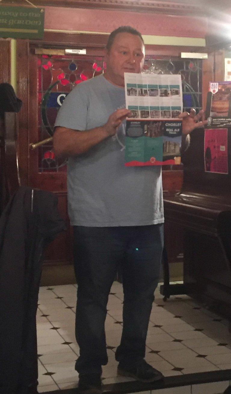 Chorley Leaflet Launch