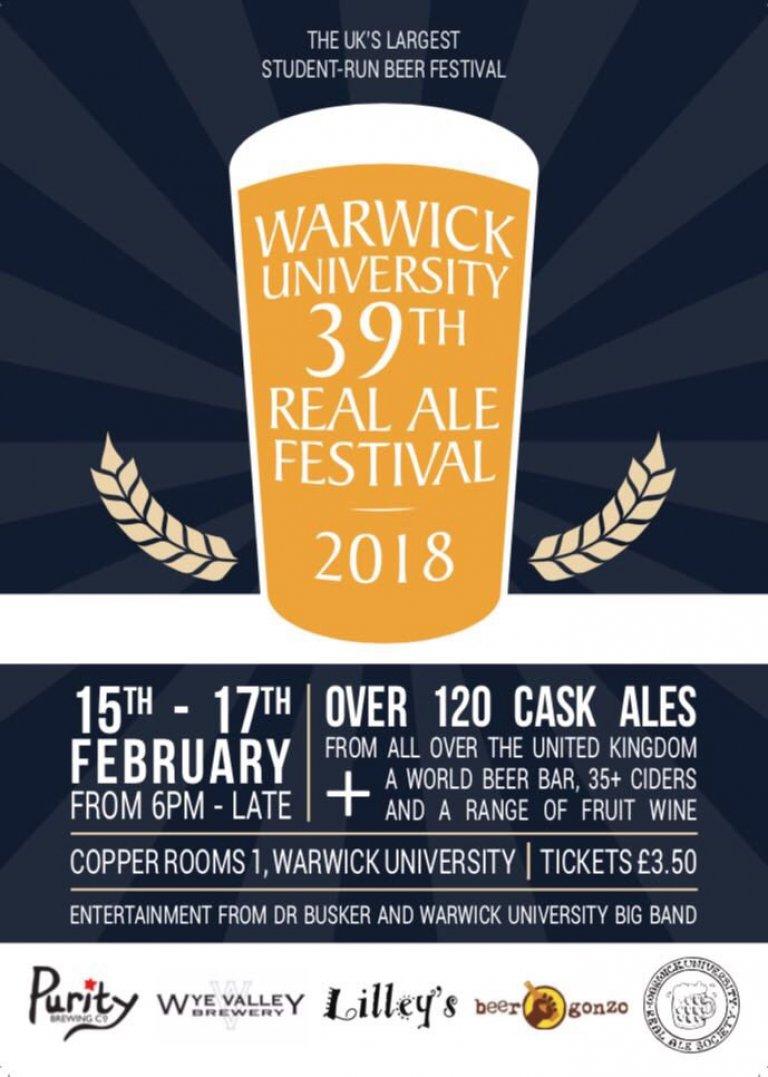 WURAS beer festival poster 2018