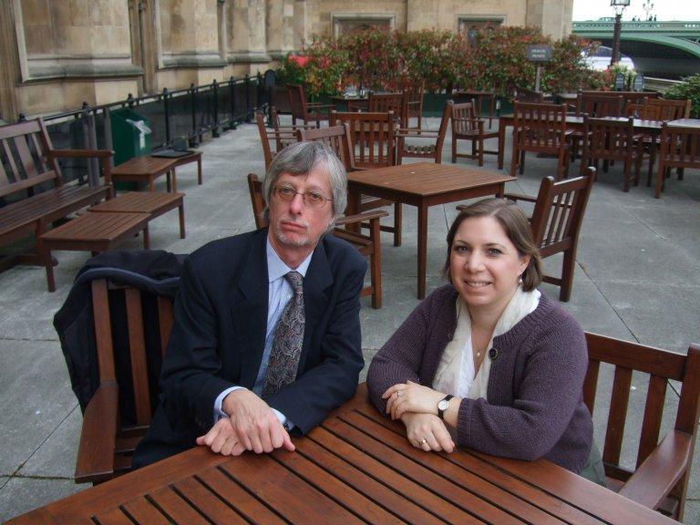 North London CAMRA's John Cryne meets with Sarah Teather MP