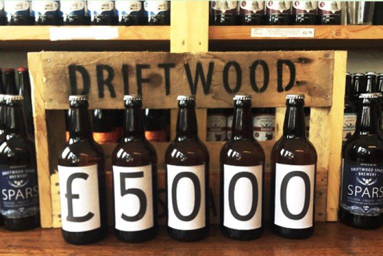 Driftwood £5000 Charity