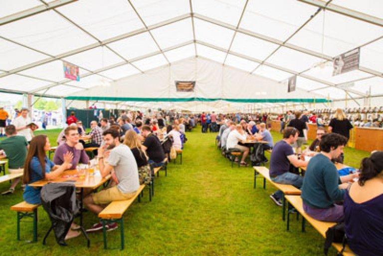 Reading Beer Festival 2018 main tent