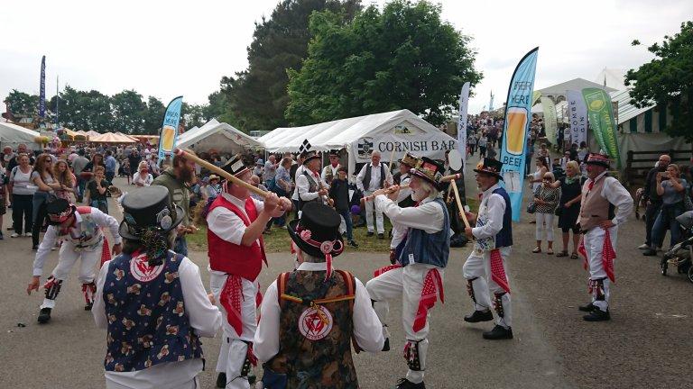 Morris Men at the Royal Cornwall Show