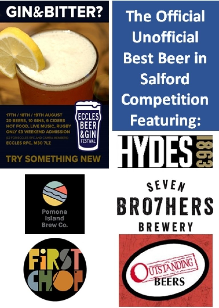 Beer competition poster for festival