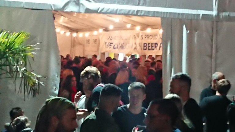 Cider Bar by night