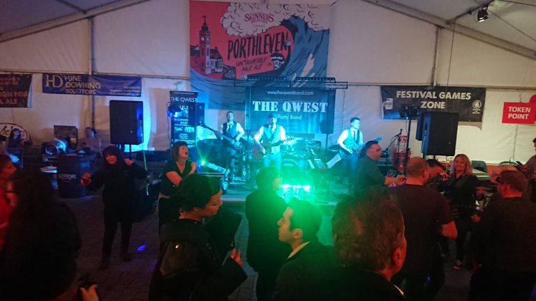 The Qwest party night