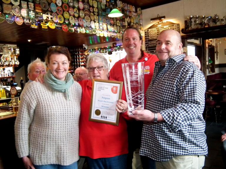 Polgoon Champion Cider of Cornwall Presentation