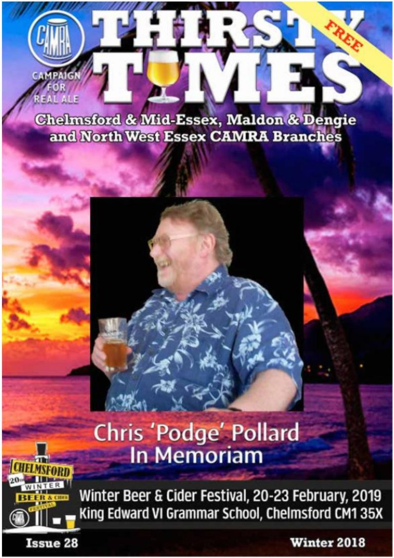 Thirsty Times 028 Winter 2018