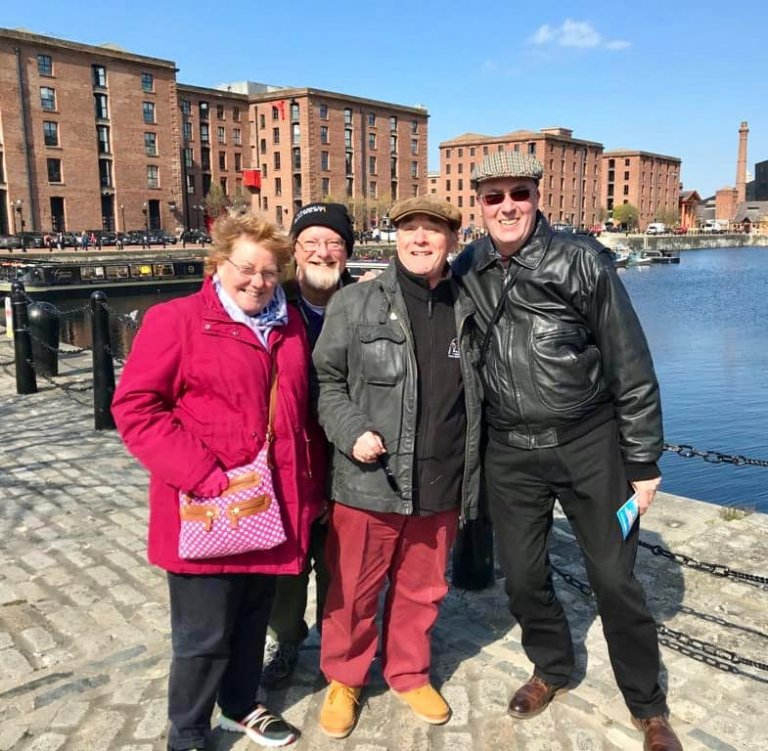 at Albert Dock