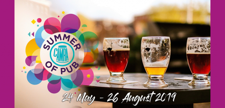 Summer of Pub Banner from CAMRA