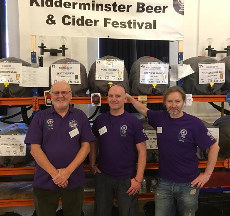 KBCF 2018 Beers and Staff