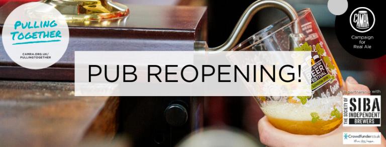 Pub Reopening