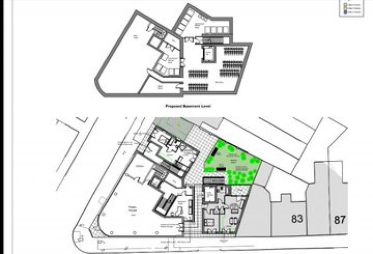 Glamorgan site plan
