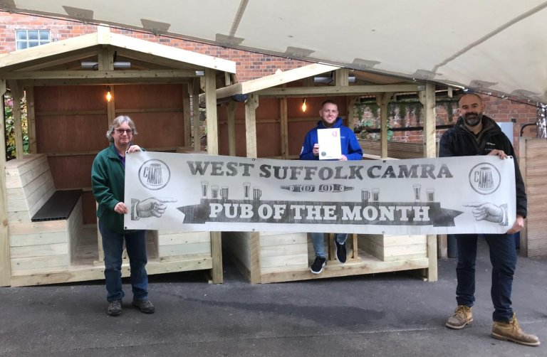 October 2020 PoTM Beerhouse Bury St Edmunds