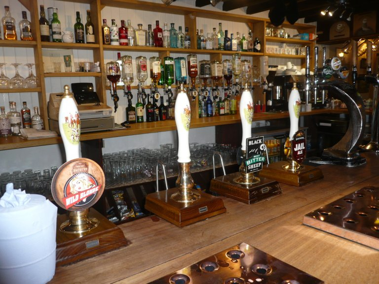 Beers available at the Bridford