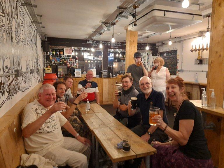Cronx bar social 8/9/21