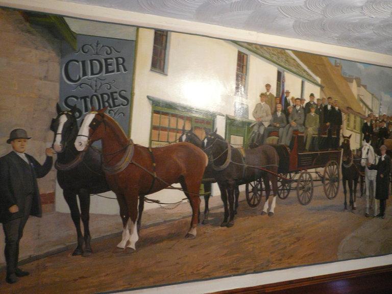 Ye Olde Cider House inside mural