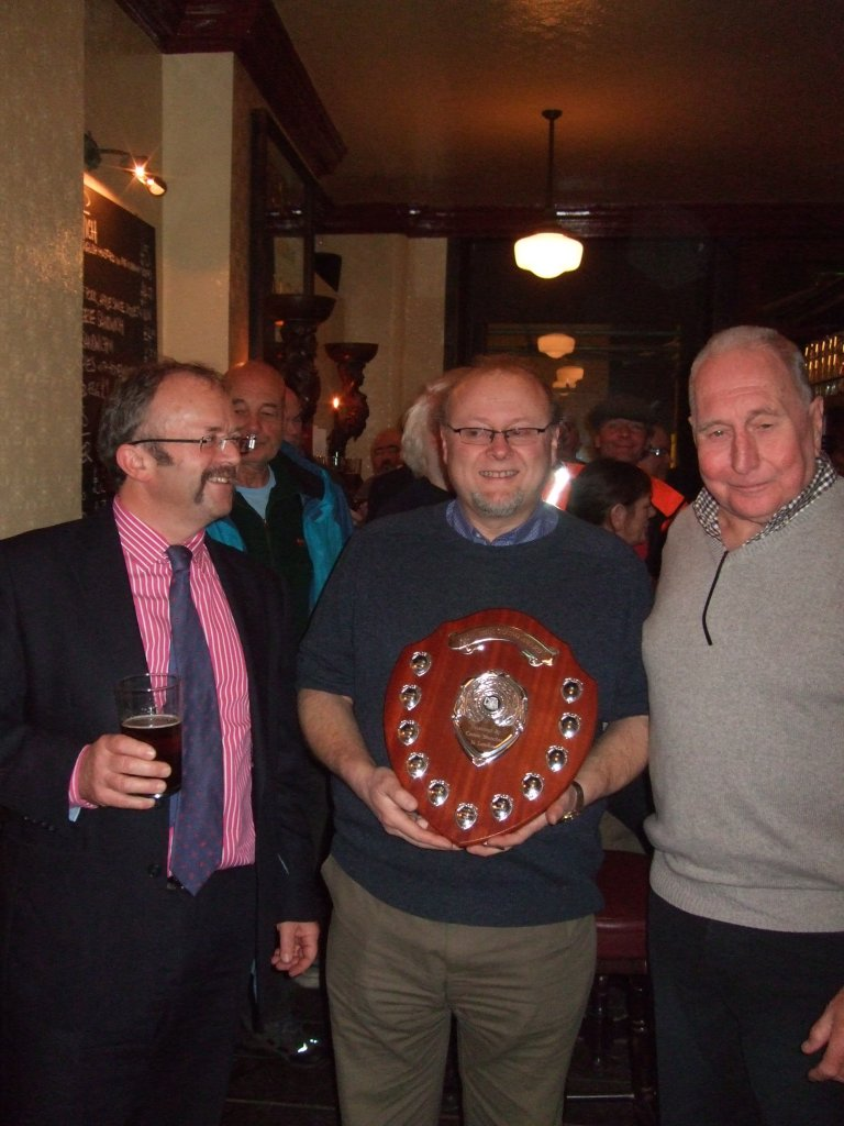 Torquil Sligo-Young (left) with Steve Barnes (centre) and Will Williams (right)