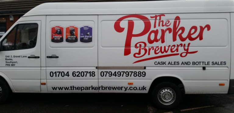 The Parker Brewery Van