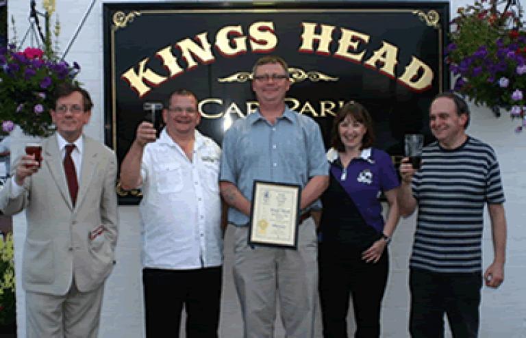 King's Head award