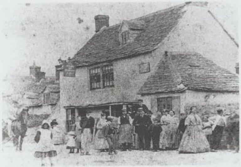 Rose & Crown, Highworth, 1871
